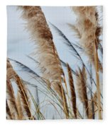 Central Coast Pampas Grass II Fleece Blanket