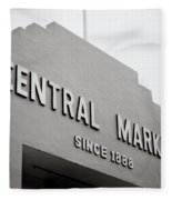 Central Market Fleece Blanket
