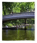 Central Park Day 2 Fleece Blanket