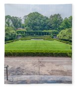 Central Park Serenity V Fleece Blanket