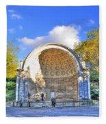 Central Park's Naumburg Bandshell Fleece Blanket