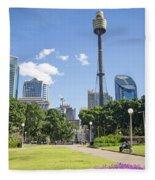 Central Sydney Park In Australia Fleece Blanket