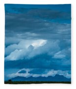 Central Valley Clouds Fleece Blanket