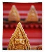 Ceramic Prayer Fleece Blanket