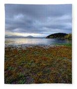 Cerknica Lake Fleece Blanket