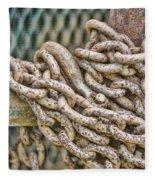Chained Up Fleece Blanket