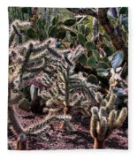 Chainfruit Cholla Fleece Blanket