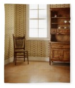 Chair And Cupboard Fleece Blanket