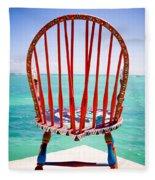 Chair Fleece Blanket