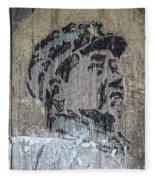 Chairman Mao Portrait Fleece Blanket