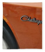 Challenger Emblem Fleece Blanket