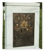 Challenger Monument Fleece Blanket