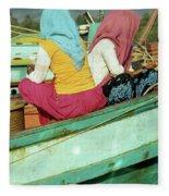 Cham Women Fleece Blanket