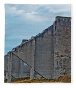 Chambers Bay Architectural Ruins Fleece Blanket