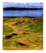 Chambers Bay Lone Tree Fleece Blanket