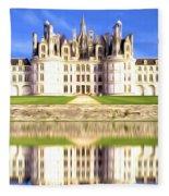 Chambord Castle Fleece Blanket