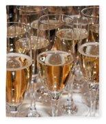 Champagne 01 Fleece Blanket