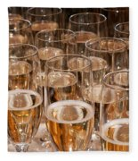 Champagne 02 Fleece Blanket