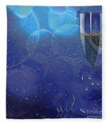 Champagne Blue  Fleece Blanket