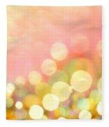 Champagne Supernova Fleece Blanket
