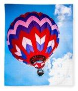 Champion Hot Air Balloon Fleece Blanket
