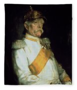 Chancellor Otto Von Bismarck Fleece Blanket