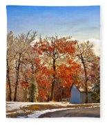 Change Of Seasons Fleece Blanket