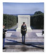 Changing Of The Guard Fleece Blanket