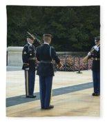 Changing Of The Guard Fleece Blanket