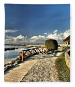 Chankanaab Walkway Fleece Blanket