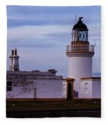 Chanonry Point Lighthouse Fleece Blanket