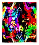 Chaos In My Mind Fleece Blanket