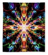 Chaos Star Fleece Blanket