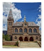 Chapel Hall Fleece Blanket