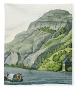 Chapel Of William Tell, From Customs Fleece Blanket