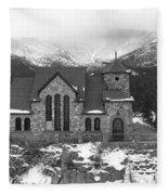 Chapel On The Rock - 5 Fleece Blanket