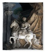 Charlemagne  Fleece Blanket