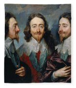 Charles I Fleece Blanket