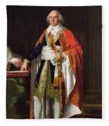 Charles Louis Francois Letourneur 1751-1817 1796 Oil On Canvas Fleece Blanket