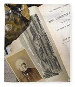 Charles Lyells Antiquity Of Man 1863 Fleece Blanket