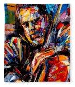 Charles Mingus Fleece Blanket
