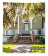 Charles Pickney Historic Site Fleece Blanket