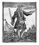 Charles Vane (c1680-1720) Fleece Blanket