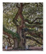 Charleston Angel  Fleece Blanket