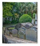 Charleston Graveyard Fleece Blanket