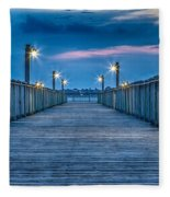 Charleston Harbor Fleece Blanket