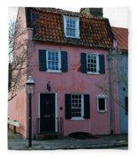 Charleston Historic District Fleece Blanket