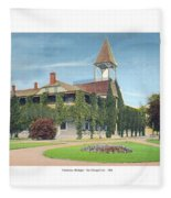 Charlevoix Michigan - The Chicago Club - 1908 Fleece Blanket