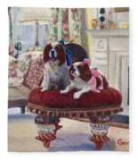 Charlie And Lizzie Fleece Blanket