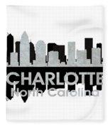 Charlotte Nc 4 Fleece Blanket